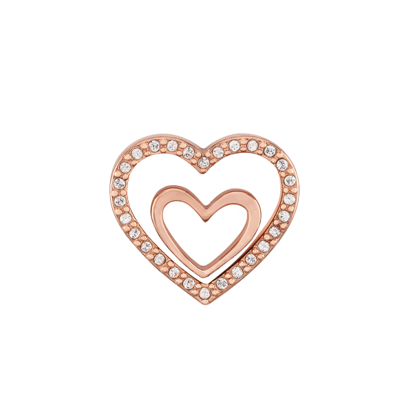 WN5005 - Rose Gold Nesting Hearts Set/2